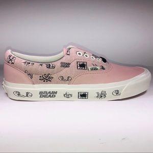 VANS Braindead Era LX Silver Pink Marshmallow Shoe